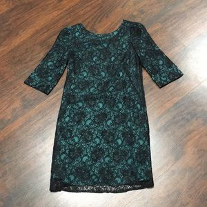 Lacey Blue/Green Dress